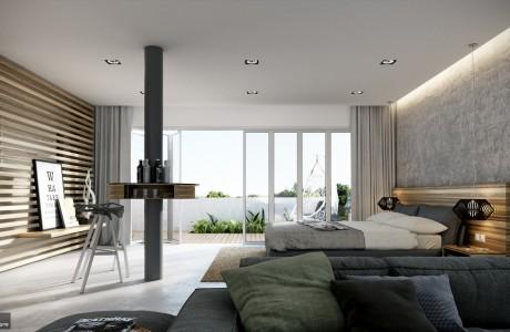 Rooftop Bedroom